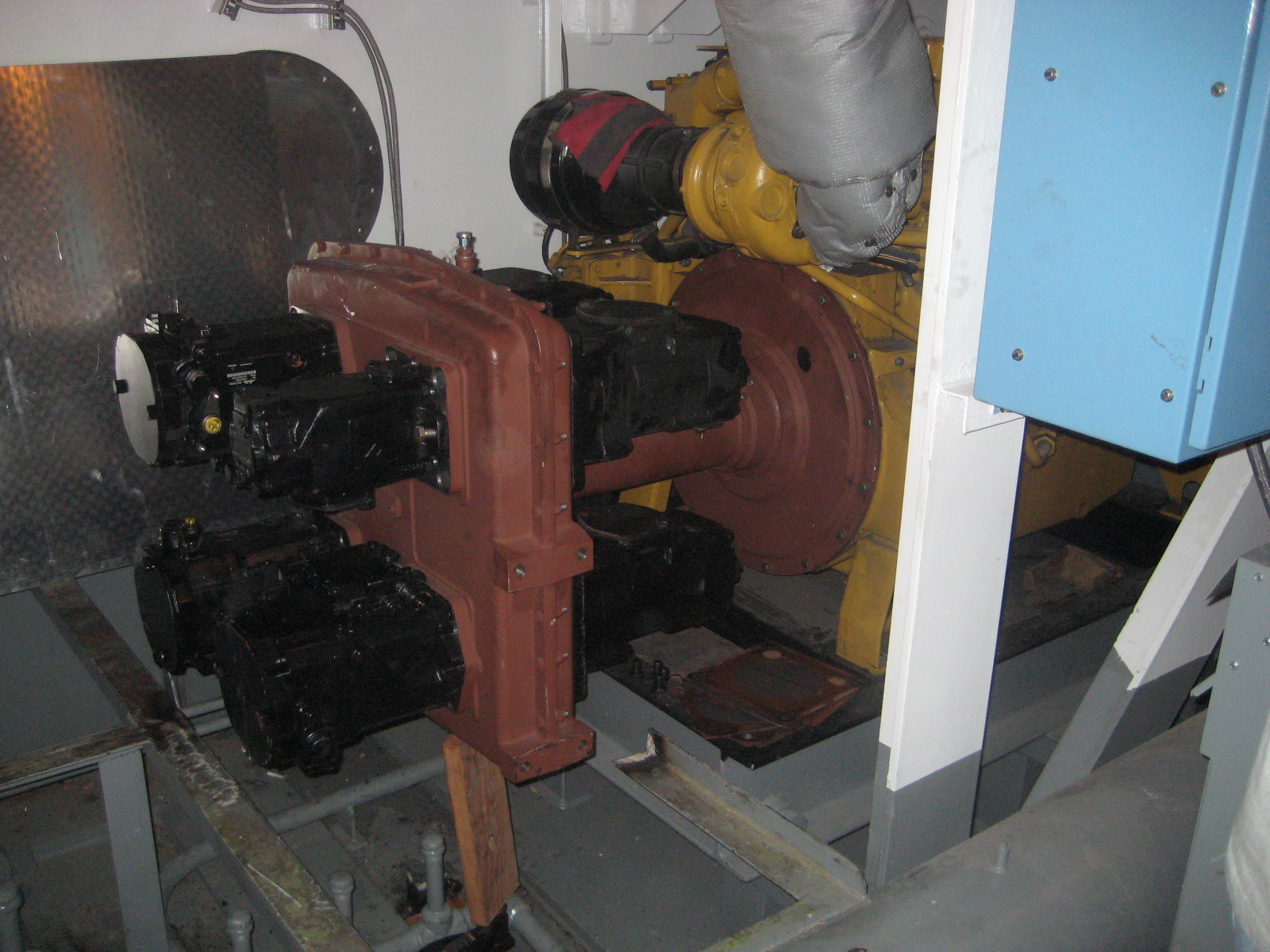 MARCO Hydraulic Pump Drives